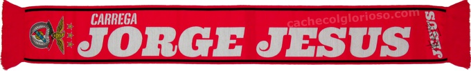 cachecol benfica t jorge jesus 2014-15